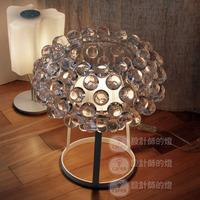 Foscarini caboche ofhead american brief crystal table lamp