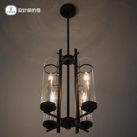 Rh loft2 american tube glass pendant light