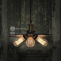Rh loft vintage lamp bar counter lamp pendant light
