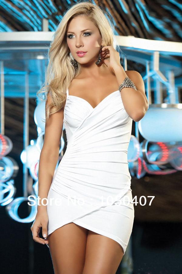 Top Denim One-piece Dress