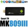 MK809III Quad Core 1.6G 3D iptv mini pc pcs RK3188 Androind 4.2  Smart TV Stick box 2G 8G MK809 III Bluetooth HDMI Free Shipping