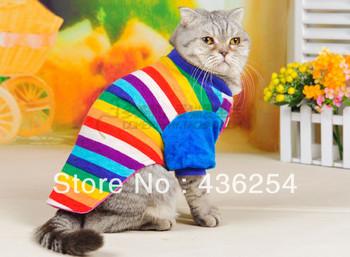 бесплатная доставка любимая кошка одеёда зимняя теплый свитер трикотаж щенка пальто верхней одежды одежды