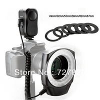 Godox Ring-48 Macro LED Ring Light with Adapter Ring for Canon Nikon Olympus