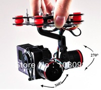Ready To Fly Hifly Gimbal Brushless Stablizer GoPro Hero 3 2 for DJI Phantom Compatible Tarot TL68A00