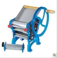 Free Shipping bearing hand double knife dough rolling machine pressing machine home pasta machine dumpling skin