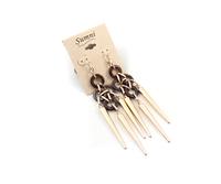 Min order $10 free shipping fashion accessories fashion punk tassel earring gj