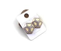 Min order $10 free shipping fashion accessories quality fresh goldenbarr stud earring gk