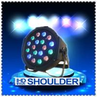 Free shipping 2014 high power 220v  mini led par light 18*3W led par 64 light,RGB color mixing led stage light
