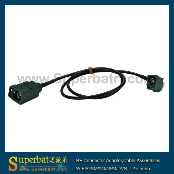 Разъем Superbat Fakra E Fakra RG174 500 AC-F03ERJ-F03ESJ-174-500