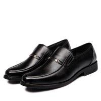 2014 spring new  Men's business casual shoes  The sleeve shoes  Genuine leather dress shoes  Korean wild shoes  Men's shoes
