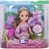 Free shipping Fairy Princess doll toy,Original My First D Princess-Petite Rapunzel & Sun Fashions Dolls,toys for children girls