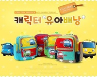 I4 Tayo 2014 big bus car child girl male double-shoulder school bag backpack travel bag