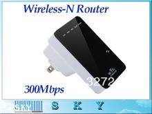 Grátis frete Wireless-N Router AP Repeater cliente ponte IEEE 802.11 b / g / n 300 Mbps eua Plug Mini
