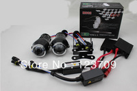 Universal 2.3''Inch Car HID Fog Projector Len 12V 35W 3000LM White,Bule,Red,Green, Purple,Yellow