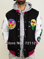 2014 BBC Billionaire Boys Club Icecream Jackets With A Hood Men's Thicken Hoodies Sweatshirts Black S-2XL Free Shipping
