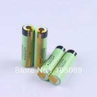 4PCS /lot New Original 18650 Rechargeable battery NCR18650B 3400mah With Tabs For panasonic Free Shipping