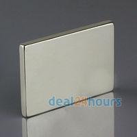 5pcs Big Bulk Super Strong Strip Block Magnets Rare Earth Neodymium 60 x 40 x 5 mm N35 Wholesale Free Shipping
