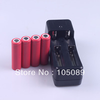 4PCS New  Original SANYO UR14500P 14500 3.7V 840mAh Li-ion Rechargeble Battery +1PCS Charger
