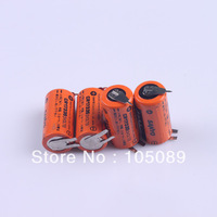 4PCS SANYO Battery CR17335 3V W/3P tabs for PLC Backup Power Free Shipping
