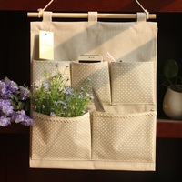 Zakka fluid polka dot wardrobe storage bags bag storage bag