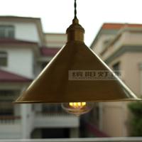 2014 hot sale Copper vintage straight wire 5w 450lm led bulb entranceway bar table pendant light
