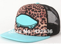 2014 newest mesh leopard Snapback Zebra hats camo mens women sports adjustable baseball caps 20 styles hiphop cap Free Shipping