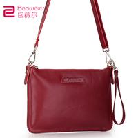Hot selling fashion vintage envelope bag  women handbag 100%genuine leather bag shoulder messenger bags for womens day clutch
