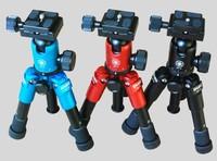 Special wholesale DEBO Macro Photography Desktop portable mini tripod ball head tripod 1pcs SLR Kit