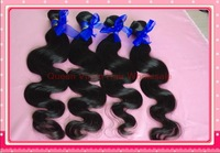 "Free shipping Queen hair products brazilian virgin hair Body Wave 12""-28"" in stock same length 4 pcs per lot"