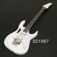 Free shipping top quality New IBZ JEM 7V white Electric Guitar DiMarzio pickup In stock delivery in 24hrs