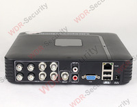 Mini DVR 8CH H.264 CCTV DVR Recorder Mobile phone view security DVR Recorder Video Recording system