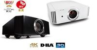 Ultra HD 4K projector 3840 X 2160 50000:1 3D HD home entertainment projector 1080P D-ILA projector movie