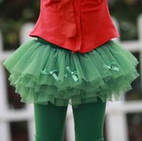 2014 spring summer kids pants female children tulle skirt pants baby girl child princess culottes legging trousers