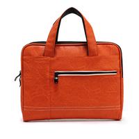 2014 High quality laptop bag for Ipad, fashion designer orange color women's handbag, tote bag