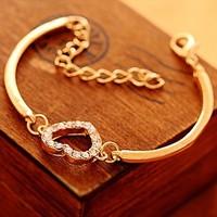 FREE SHIPPING Hot Sale Alloy Heart Bracelet,B5072