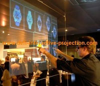 NEW ARRIVE! Rear Projection  film that making excellent BLACK  color reappearance wholesale and retail