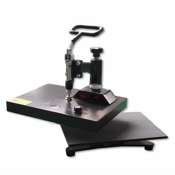 110V 220V HP230 23x30cm lowest price t-shirt heat press machine t-shirt heat transfer printing for sale color random(China (Mainland))