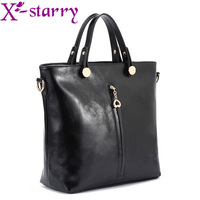 BUENO 2014 hot new glossy shoulder bag fashion women handbag pu leather messenger bags HL1428