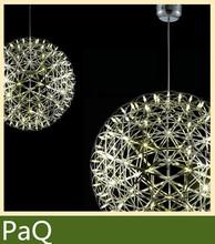 Moooi Raimond Suspens led chandeliers lamp Sparks Planet lamps 38cm/45cm big ball pendant 42 led light fixture(China (Mainland))