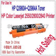 For HP Toner Q3960A Q3961A Q3962A Q3963A Cartridge,Toner Use For HP Color Laserjet 2550 2800 2820 2840 Printer,For HP 2550 2820