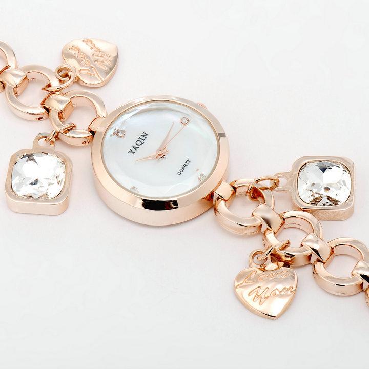 Quartz Crystal Watch Crystal Rhinestone Watches