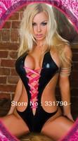 Free Shipping 120132 women's black sexy bodysuit hot sell 10 pcs/lot
