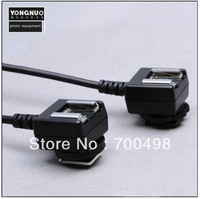 Yongnuo TTL off-Camera Cord With Two Hot Shoes for N (FC-682) retail and wholesale 50% shipping fee