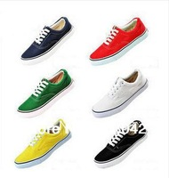 2014 hot sale 10 colors unisex causal shoes,men shoes Free Shipping for Men women low Style EUR size 35-45