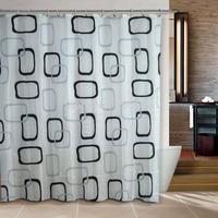 Blue Sea world  bathroom products curtain shower curtain terylene bath curtain 180x180cm ,screen shower,curtain bath