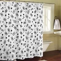 Aliexpress.com : Buy 180X200CM Eiffel Tower bathroom Polyester