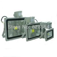 10W 20W 30W PIR Motion Sensor LED Flood Light Outdoor Garden Lighting Warm Cold White 85-265V Lamps