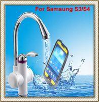 Ultra Thin Slim iPega waterproof water proof case for Samsung Galaxy S IV S4 I9500/S III S3 I9300 Dirtproof Snowproof Shockproof