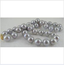 popular grey pearl necklace