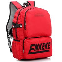 Large capacity student school bag male girls backpack fashion nylon laptop    travel bag